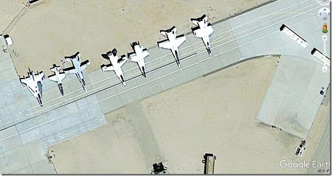 爱德华兹试验机-F16XL F18 航天飞机@KEDW-20120826