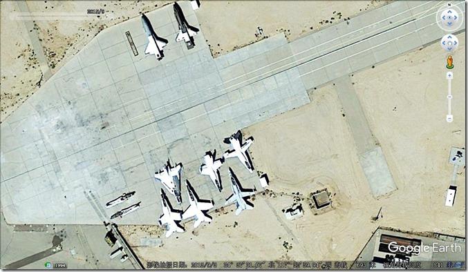 爱德华兹试验机-F16XL F18 航天飞机@KEDW-20150905