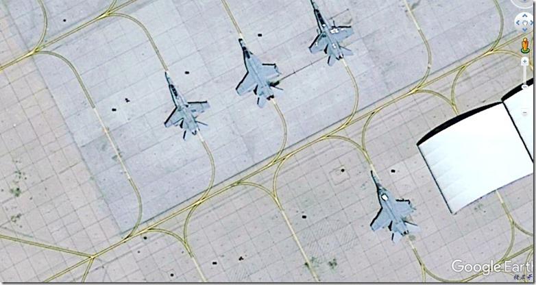 F18机群 破损机@KNID-20170702
