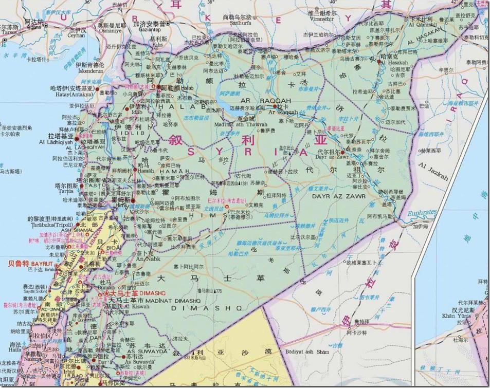 叙利亚地图2